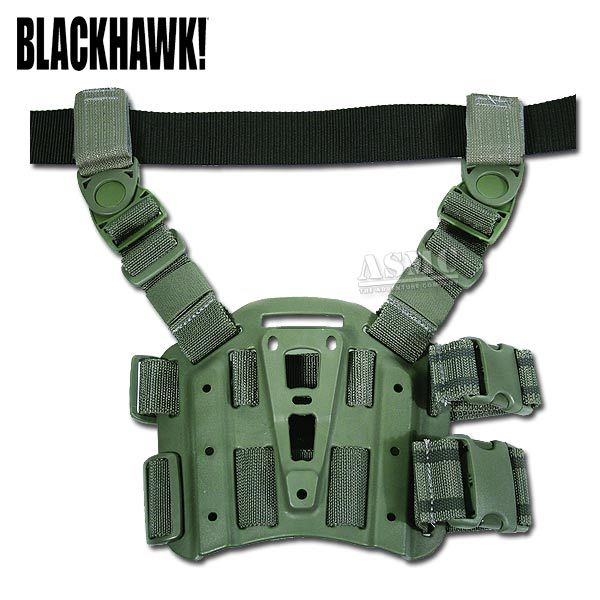 Plateforme holster tactique Blackhawk CQC kaki