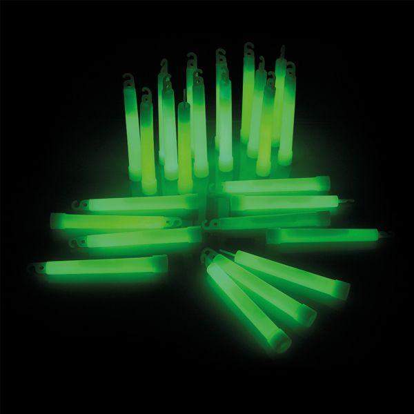 KNIXS Bâtons lumineux Power vert lot de 25