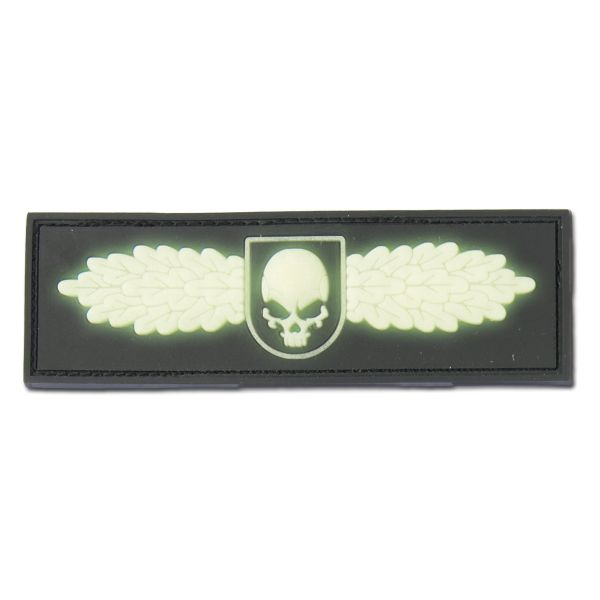 Patch 3D SOF Skull Badge fluorescent