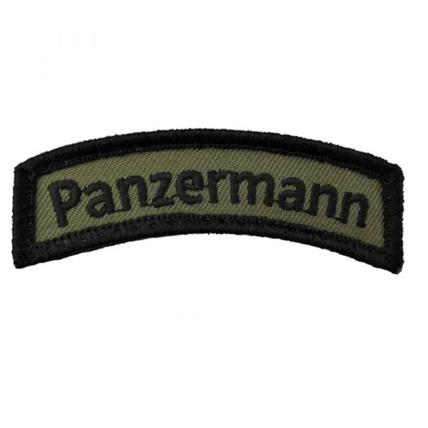 Café Viereck Patch Panzermann TAB olive noir