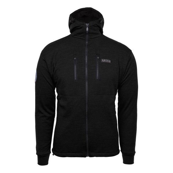 Veste Brynje Antarctic avec capuche noir