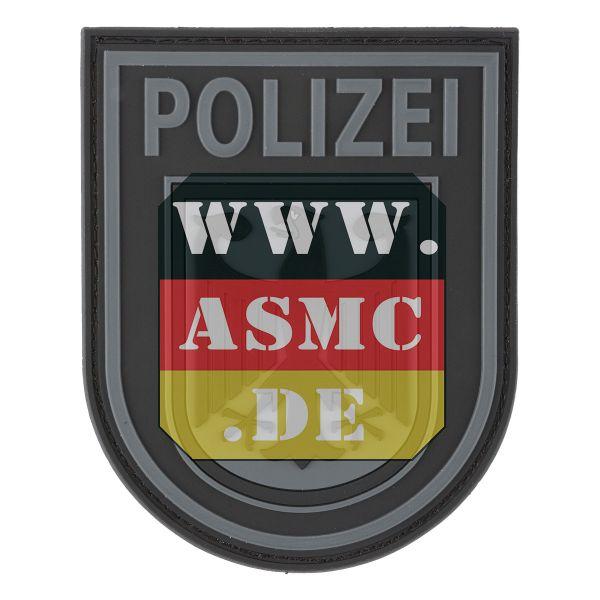 Patch 3D Bundespolizei noir