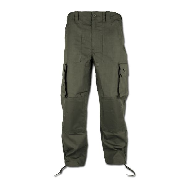 Pantalon treillis Commando lightweight vert olive
