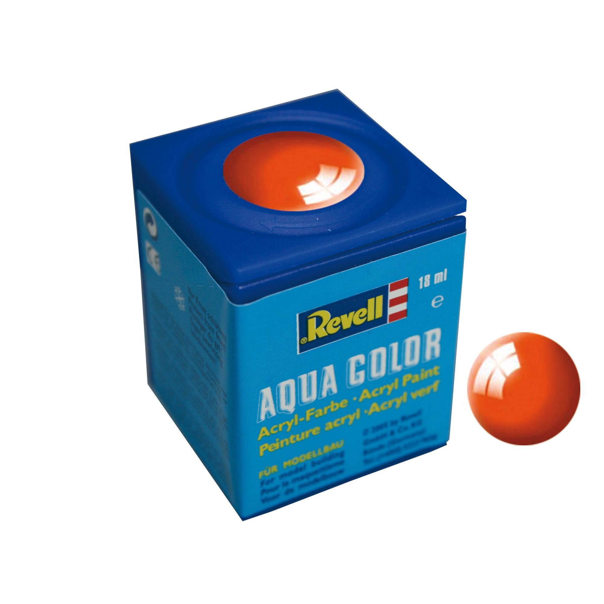 Peinture Revell Aqua Color brillant orange