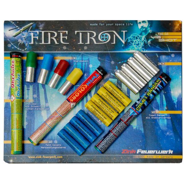 Zink Feux d'artifice FireTron Sortiment 15 mm 46 pièces
