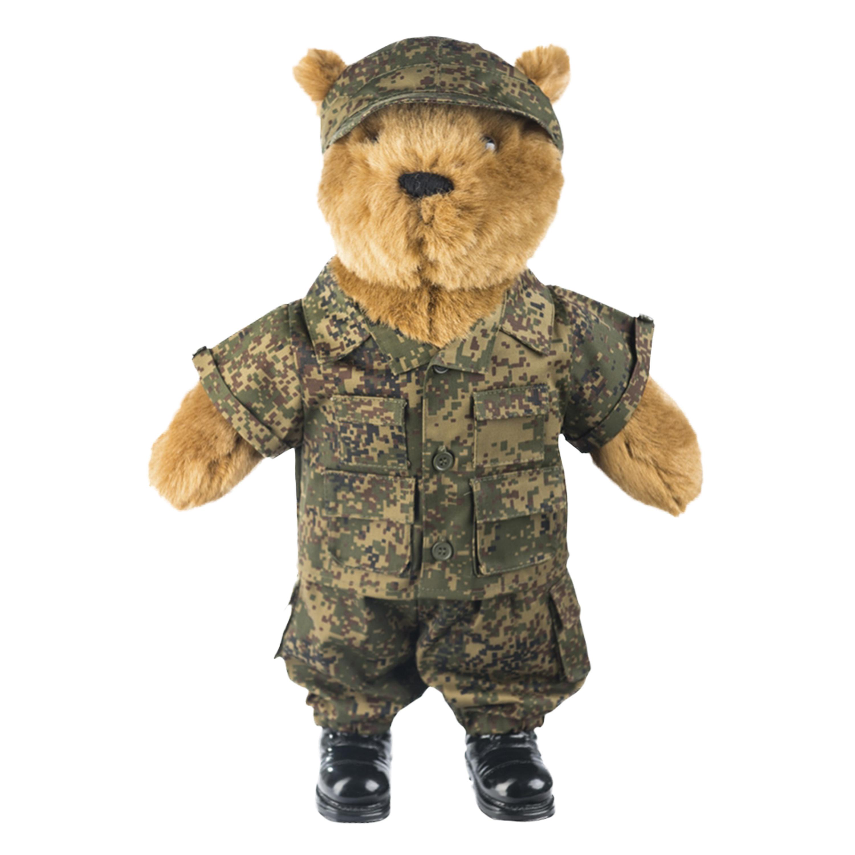 Tenue pour le grand ours en peluche Knuddel russe digital tarn