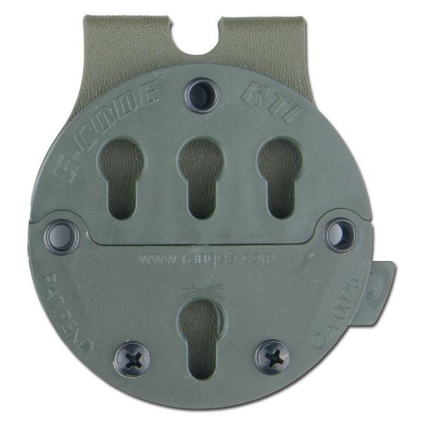 RTI adaptateur ceinture MOLLE G-Code vert olive