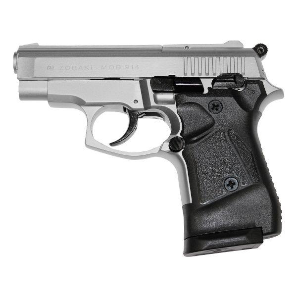 Pistolet Zoraki 914 chromé