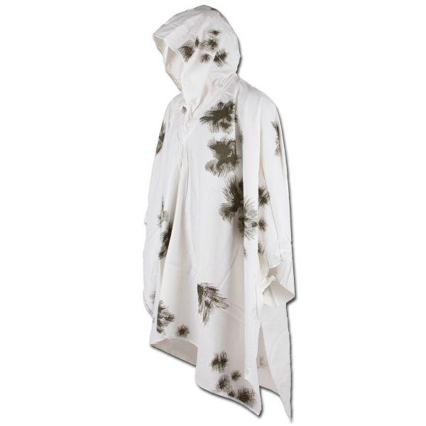 Poncho camouflage neige comme neuf