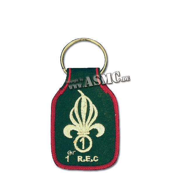 Porte-clés brodé 1er REC