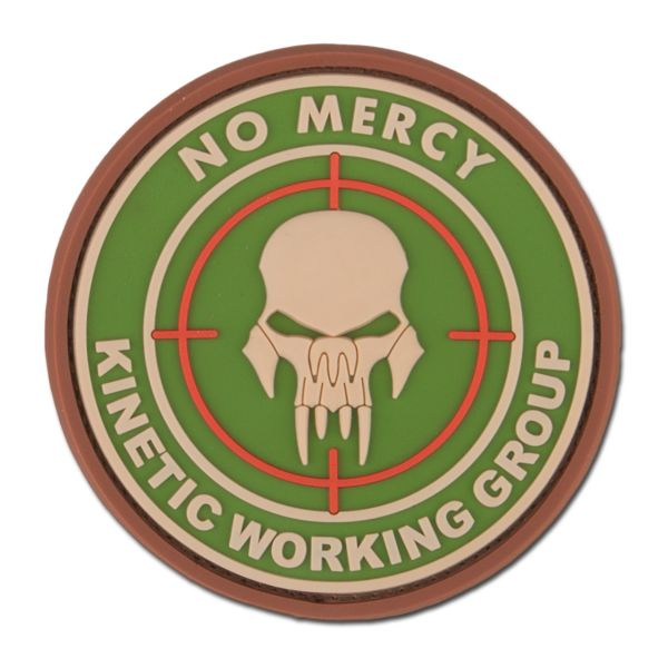 Patch 3D NO MERCY - KINETIC WORKING GROUP multicam