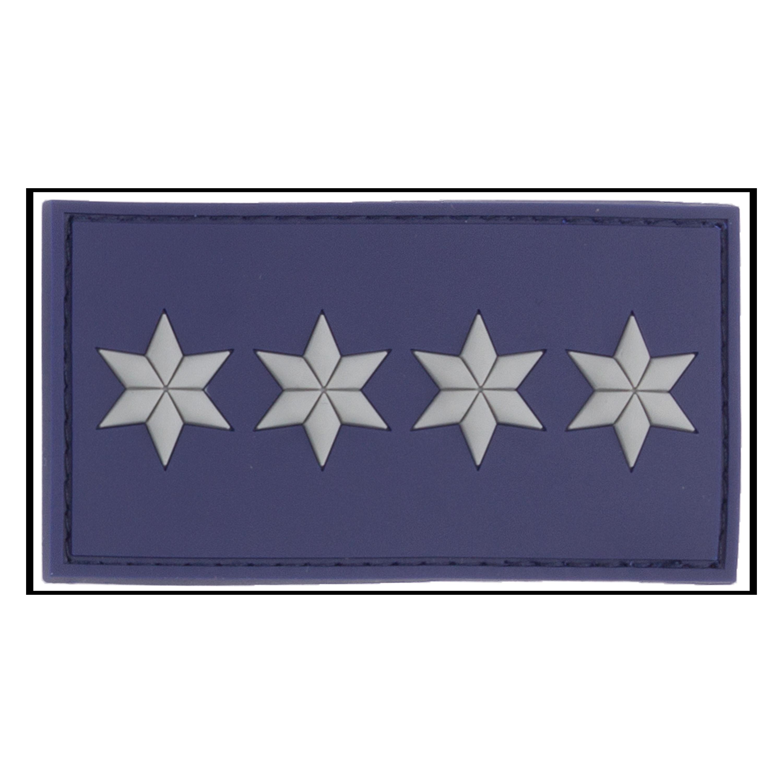 Patch 3D Grade Polizeihauptkommissar A12 bleu