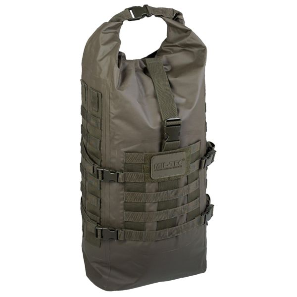 Mil-Tec Sac à dos Tactical Backpack Seals Dry-Bag olive