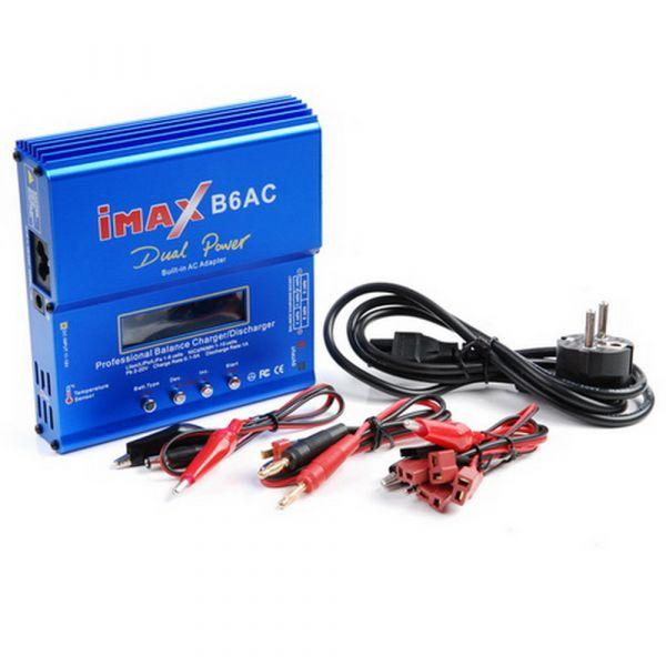 Imax RC Chargeur Battery Charger Imax B6AC bleu