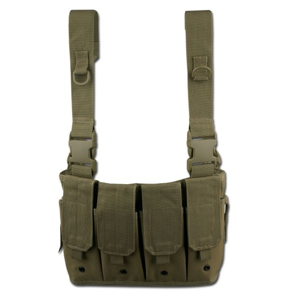 Chest Rig porte-chargeurs vert olive