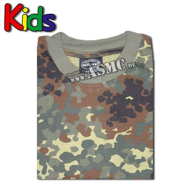 T-shirt pour enfants flecktarn
