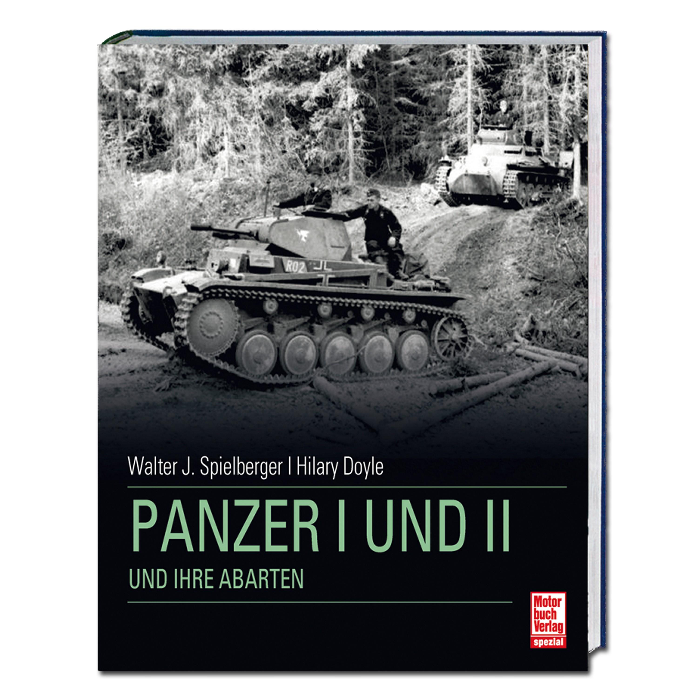 """Livre """"Panzer I und II und ihre Abarten"""""""