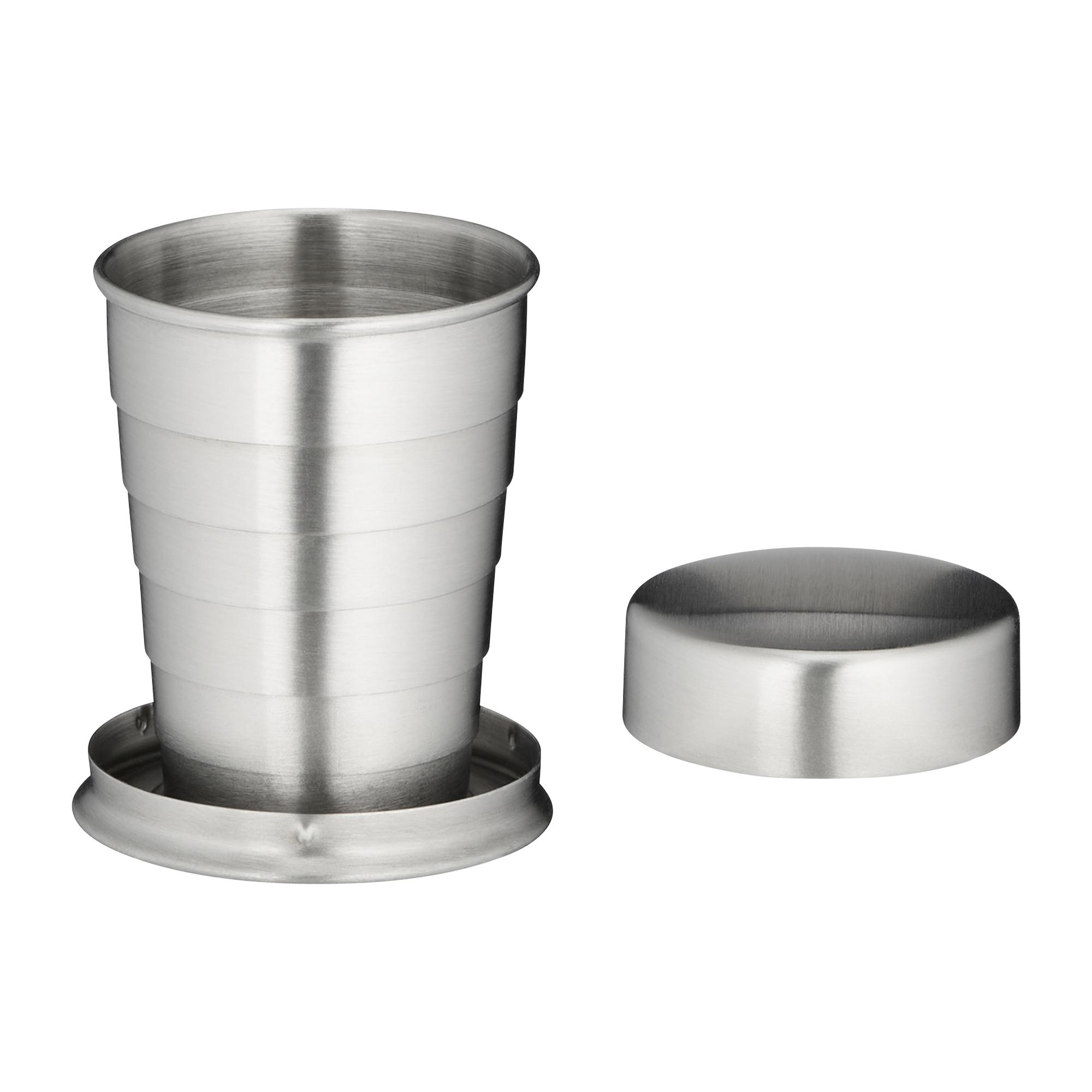 Tasse pliante acier inoxydable 4 cl