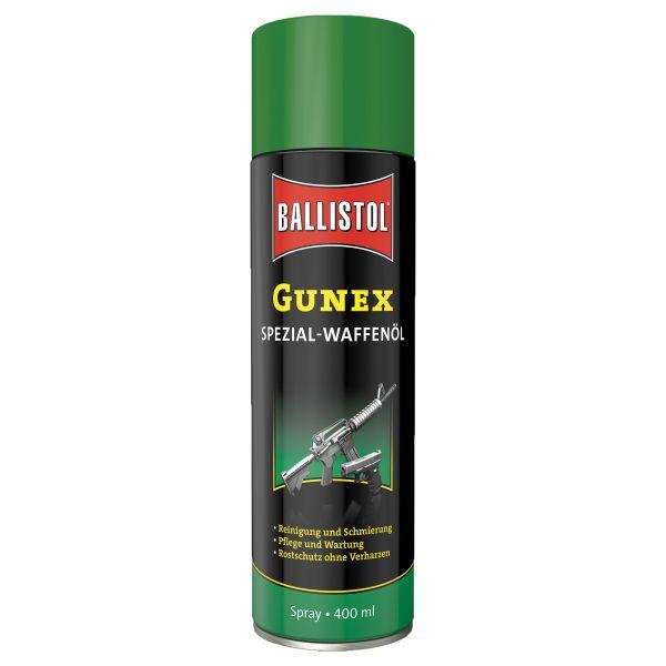 Ballistol Gunex Huile pour arme Spray 400 ml