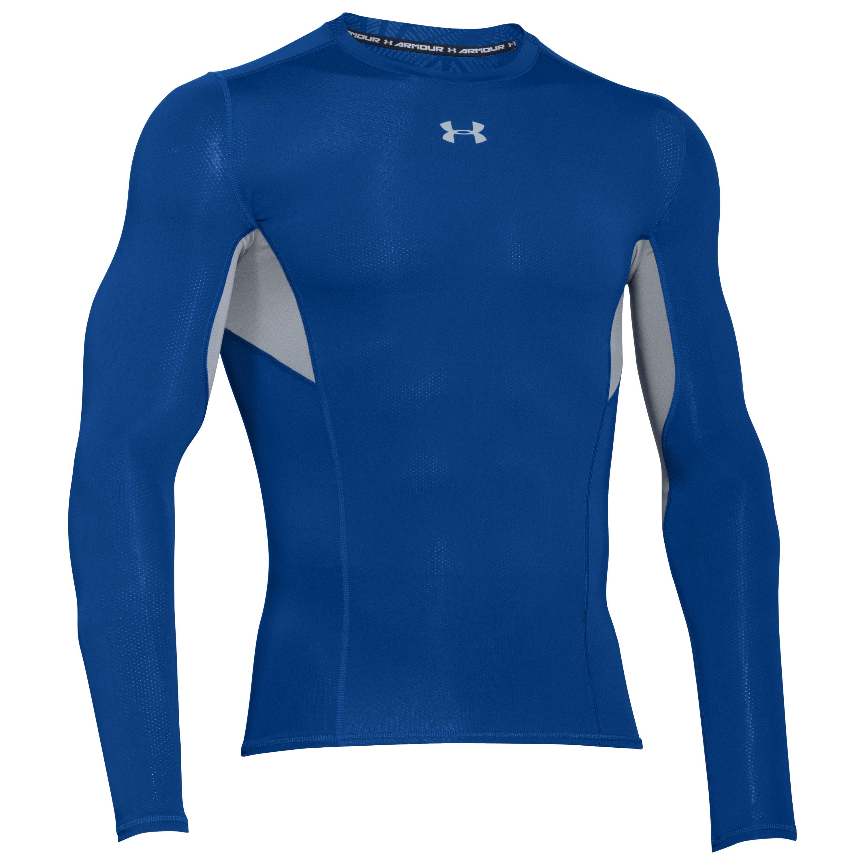 Shirt de compression CoolSwitch Under Armour bleu royal