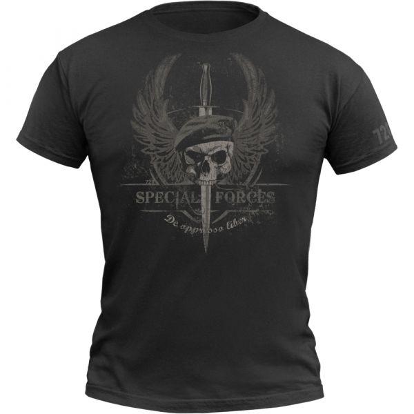 720gear T-Shirt Special Forces noir