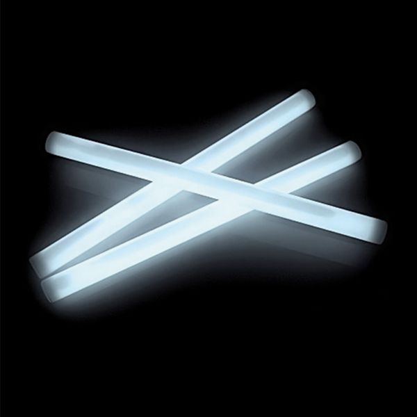 KNIXS Grand bâton lumineux blanc glacier