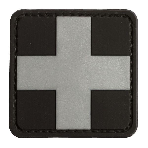 Patch 3D Red Cross Medic TAP noir-argent