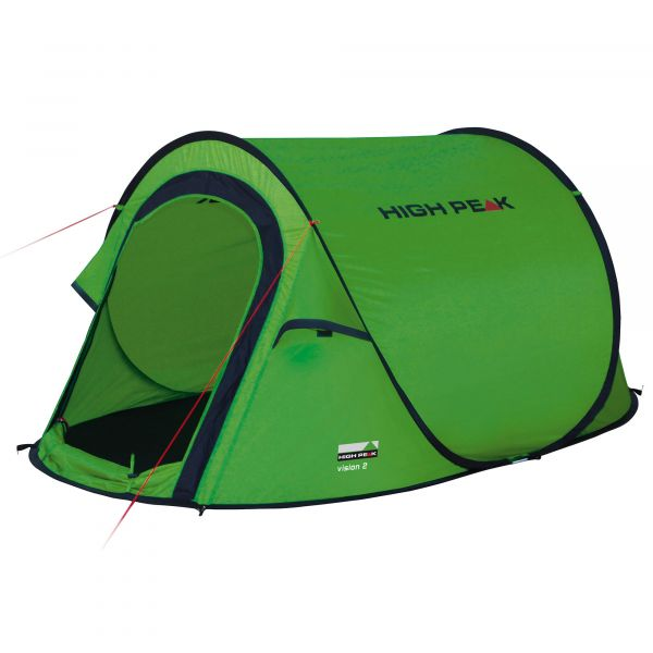 High Peak Tente Popup Vision 2 vert phantom