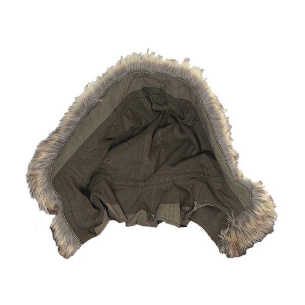 Capuche à fourrure pour Parka US M51 kaki