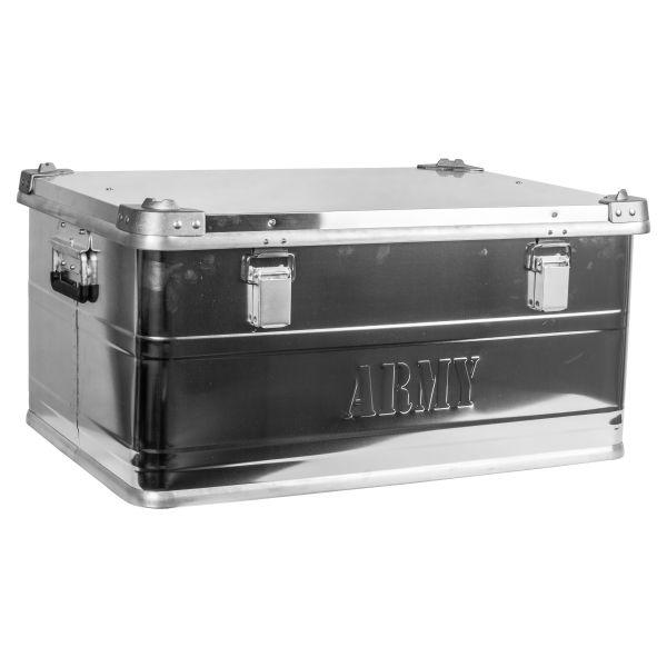 Boîte de transport avec poignées Aluminium moyen