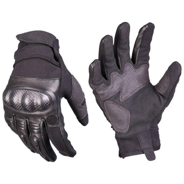 Gants Tactical Gloves Gen. II cuir noirs