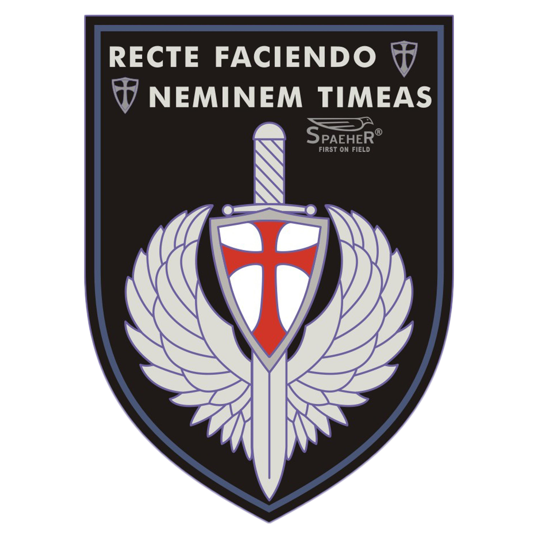 JTG Patch 3D Recte Faciendo Neminem Timeas chez ASMC