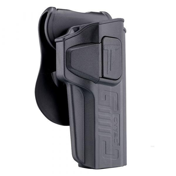 Cytac Paddle holster R-Defender Gen3 Colt 1911 droitiers noir