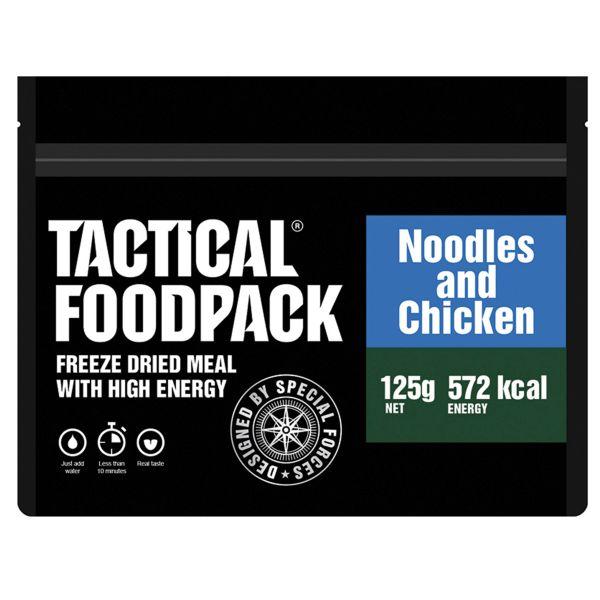 Tactical Foodpack Repas Outdoor Nouilles et Poulet