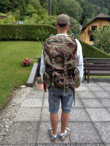 Aufnahme ohne Seitentaschen