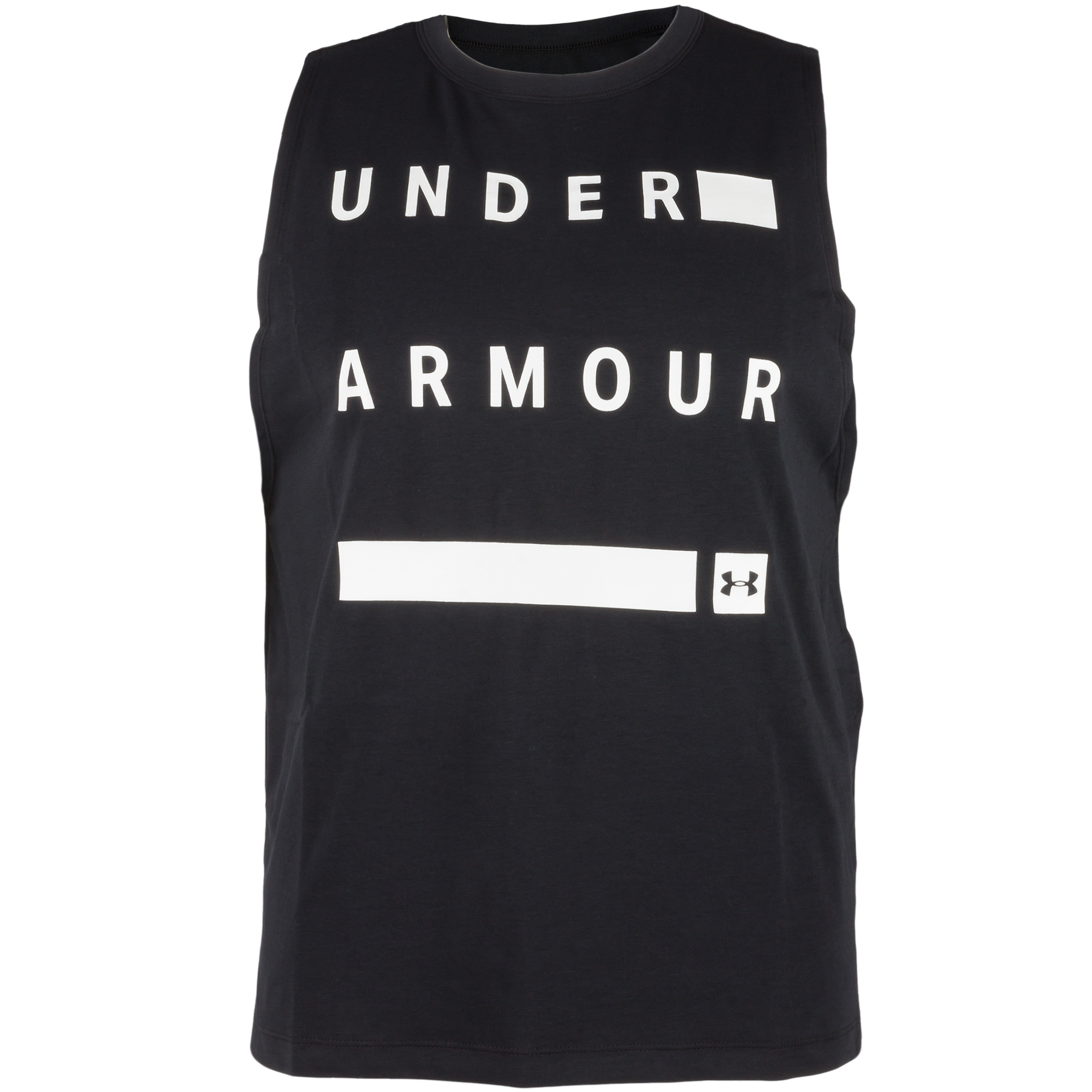 Under Armour Débardeur Femmes Muscle Linear Wordmark noir