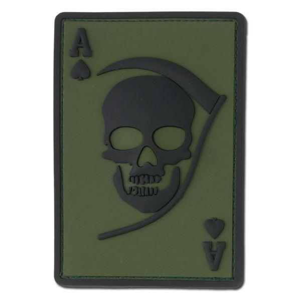 Patch 3D Death Ace kaki/noir