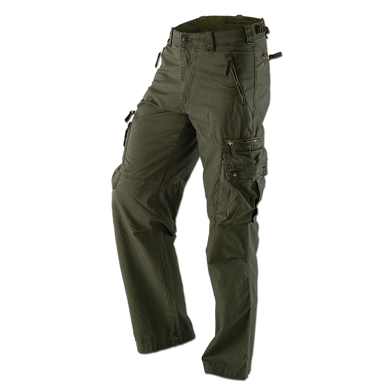 Pantalon Rico Vintage Industries kaki