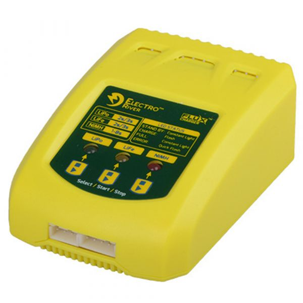 Electro River Chargeur Flux Universal Charger jaune