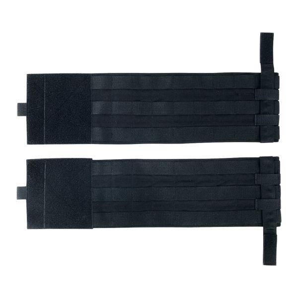 TT Set de panneaux latéraux pour porte-plaque noir