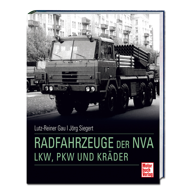 """Livre """"Radfahrzeuge der NVA - LKW PKW und Kräder"""""""