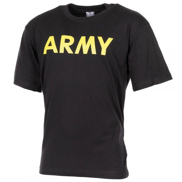 MFH T-shirt ARMY noir