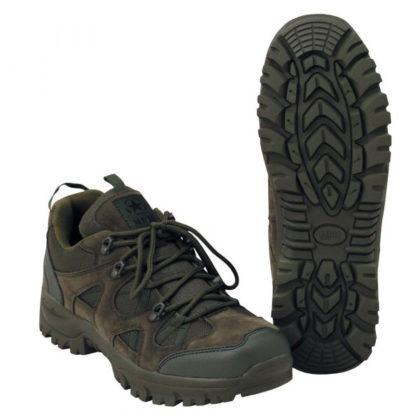 MFH Chaussures Tactical Low olive