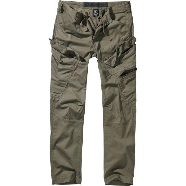Brandit Pantalon Adven Trouser slim fit olive