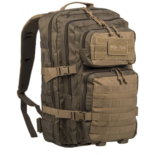 Sac à dos Mil-Tec US Assault Pack LG ranger green coyote