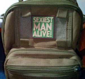 3D PATCH SEXIEST MAN ALIVE!