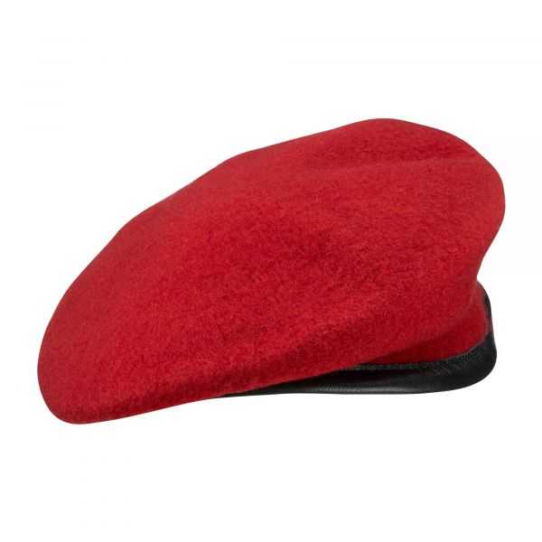 Béret Commando BW import rouge