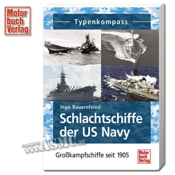 Livre Schlachtschiffe der US Navy - Großkampfschiffe