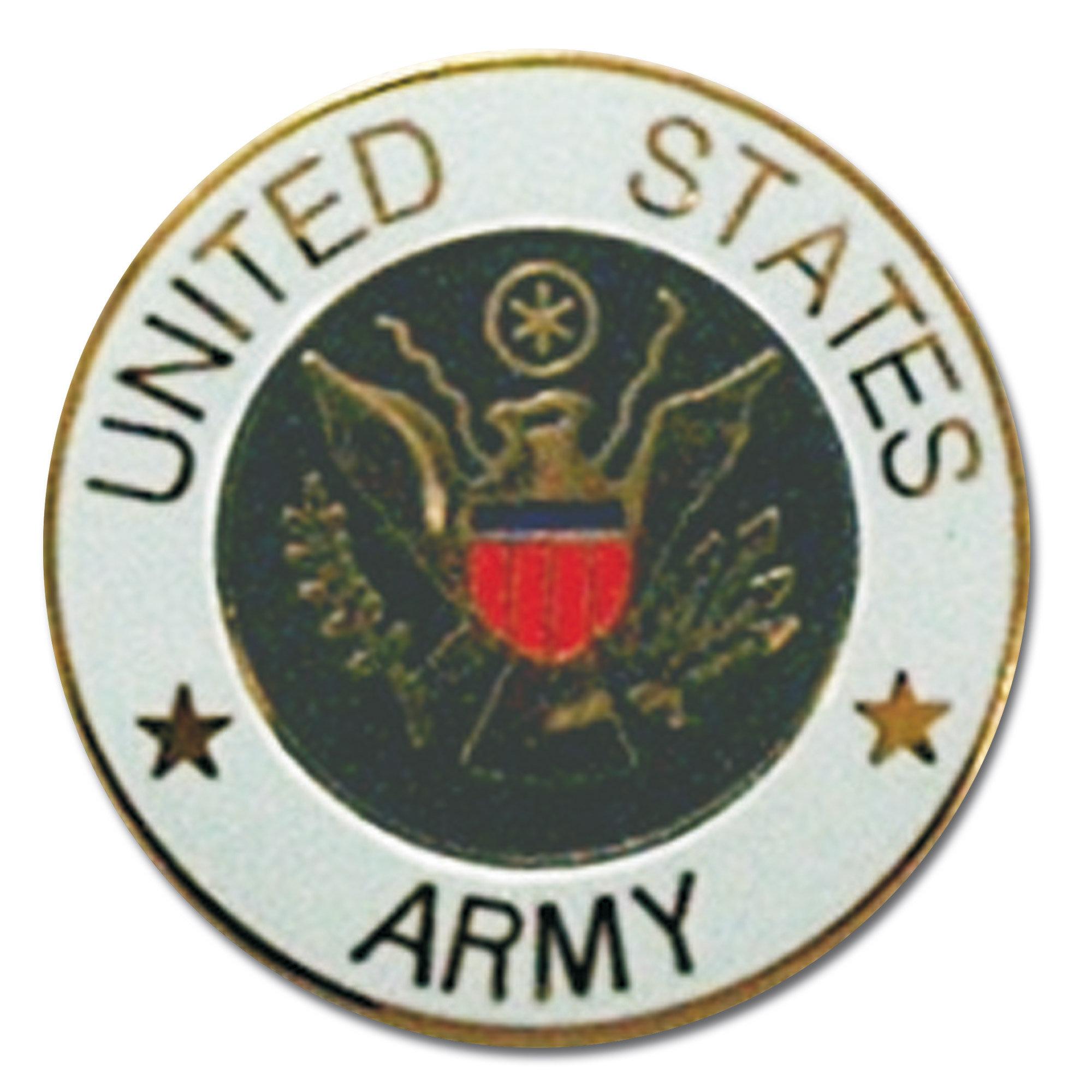 Pin Mini US Army rond