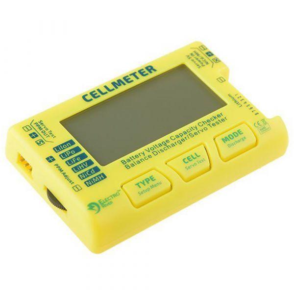 Electro River Testeur de batterie universel jaune